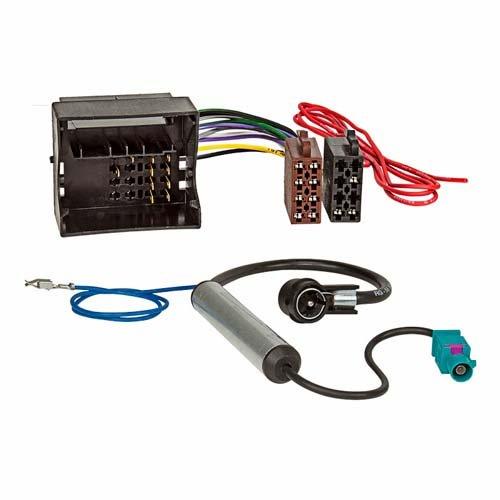 ACV 1230-45 Radioanschlusskabel, ISO Norm/Phantomeinspeisung Mehrfarbig