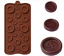 Baking & Pastry Tools - Button Shape Silicone Mold Jelly\Biscuits \Chocolate Mould DIY Baking Cake Decorating Tools Kitche...