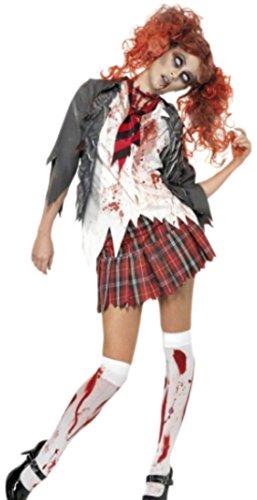 Fragolina dolcecuore loft - Zombie Costume da donna per la scuola mermaiden, Halloween, XS-M, multicolore multicolore Medium