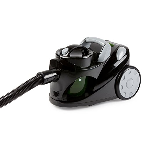 Staubsauger ohne Beutel, mit doppeltem Hepa-Filtersystem, Energieeffizienzklasse: A schwarz