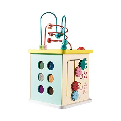 Hape E8503 Momo Cube de motricité à partir de 12 Mois Multicolore