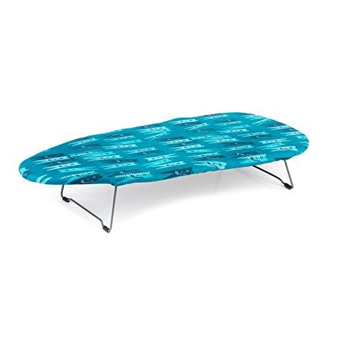 Beldray LA023735PEG Desk Table Top Ironing Board, Steel, Pegs Print, 73x 31cm