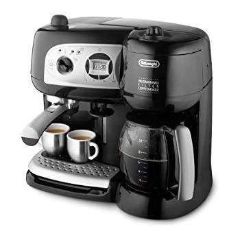 DeLonghi BCO264.1 - Cafetera combinada, 1750 W, 1.2 L, negro ...