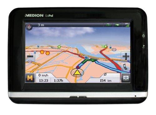 Medion P4410 PND Navigationsgerät (Gopal Navigation Version 3.0 PE (Premium Edition), Europa Seamless, 2GB SD Karte, TMC Pro, Bluetooth, Spracheingabe)