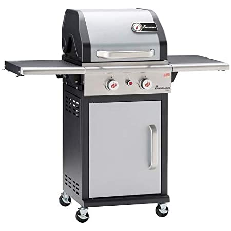 Landmann Triton Maxx Pts Premium Gas Barbecue With Double Walled Lid And Maxx Zone For Maximum Heat Grill Made Of Enamelled Cast Iron Amazon De Garten