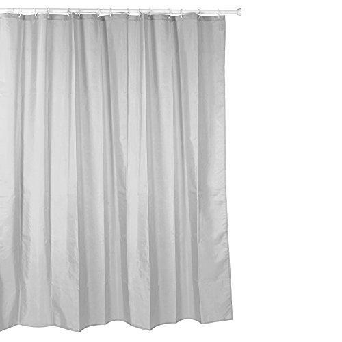 Tatay Cortina de baño de Polyester hidrofugado, Lavable, Ev