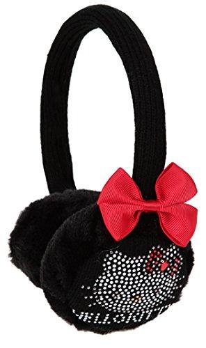Hello kitty Mädchen Ohrenschützer schwarz schwarz einheitsgröße