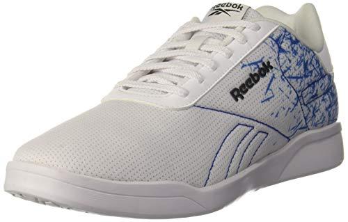 Reebok Men's Tread Lux Print Lite Lp White/Awesome Blue Running Shoes-8 UK (42 EU) (9 US) (FW1786)
