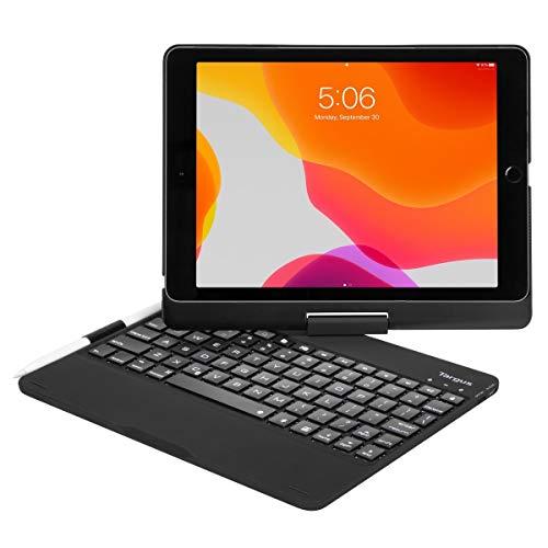Targus THZ857NO VersaType for iPad (8th & 7th Gen) 10.2-inch, iPad Air 10.5-inch, iPad Pro 10.5-inch (Nordic) - Black