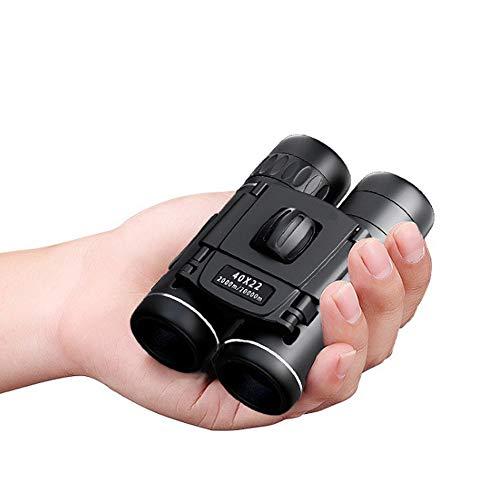 Prismáticos Pequeños,MINI 40x22 HD Binoculares, fácil de llevar y apto para niños, viaje, conciertos y observación de pájaros.