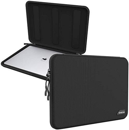 Smatree Estuche Rígido para Computadora Portátil Compatible con de 15,6 Pulgadas Lenovo Ideapad-A12   DELL Vostro 15 7000   Acer Helios 300   Aspire E 15, Negro