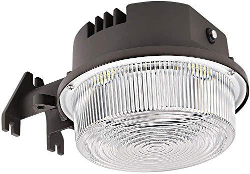 Bbounder - LightPRO 70W 9800LM LED Barn Lights Dusk to Dawn Outdoor Area Lights with Photocell (700W Incandescent Equiv.) 5000K Daylight Waterproof ETL&DLC Listed for Yard Street Flood Lights