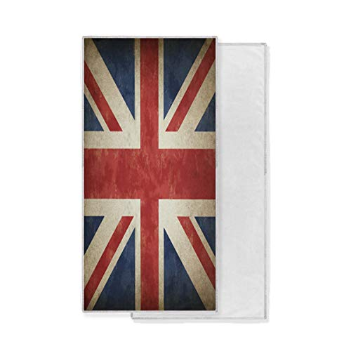Funnyy BIGJOKE - Toalla de Mano Absorbente de la Bandera de Inglaterra para Gimnasio, Deporte, baño, Viajes, SPA, natación, Entrenamiento (30 x 15 Pulgadas)