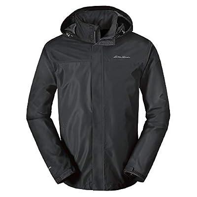 Eddie Bauer Men's Rainfoil Packable Jacket, Dk Smoke Regular S