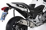 Hepco&Becker Guardabarros trasero Lock it – negro para Honda NC 700 X / 750 X / DCT