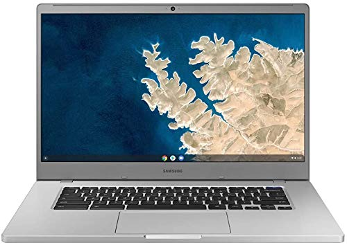 "2020 Newest Samsung Chromebook 4 15.6"" FHD Non-Touch Laptop for Business Student, Intel Celeron N4000, 4GB RAM, 32GB Storage, Webcam, WiFi, Chrome OS (Google Classroom Ready) + Oydisen Cloth"