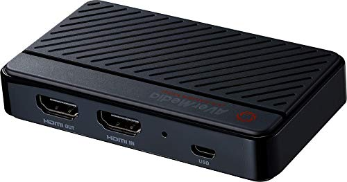 AVerMedia GC311 Live Gamer MINI, HDMI 1080p60 Pass-thru, tarjeta de captura de juegos USB 2.0, Plug & Play, para principiantes, Nintendo Switch, PS4, Xbox, iPhone, iPad