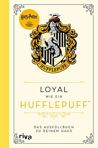Harry Potter: Loyal wie ein Hufflepuff: Das Ausfüllbuch zu deinem Haus