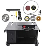 Scicalife Mini Table Scies DIY Bijoux Équipement Lapidaire 110V Paillasse Tampon Rock Grinder Polissage Machine