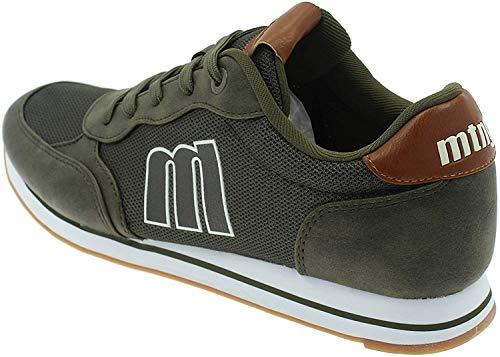MTNG Attitude Herren 84361b Sneakers, Grün (Wax Suede Kaky C49101), 43 EU