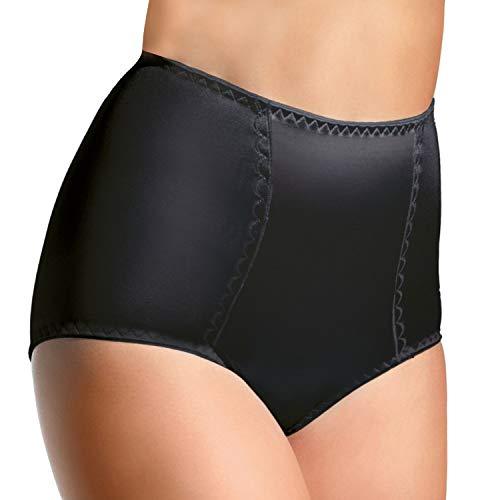 Bauchweg Unterwäsche Damen Miederslip mit Bauch-Weg-Effekt Shapewear Stark Formend Miederhose Slip Hochzeitsdessous Große Größen (XL)