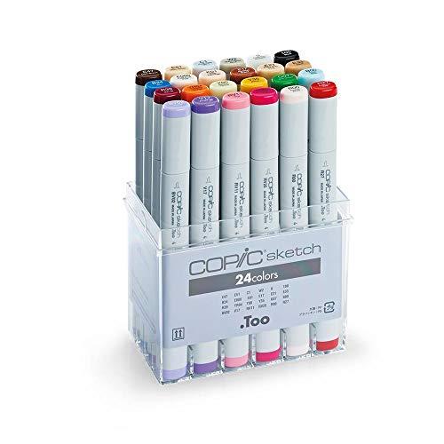 Copic - 21075524- Set de 24 rotuladores para dibujo