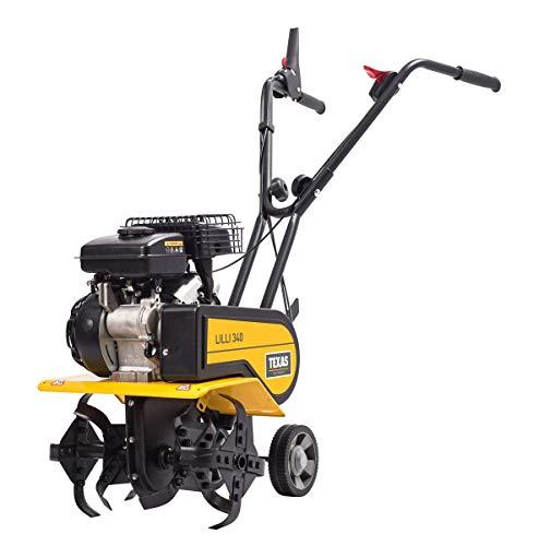 TEXAS Lilli 340 TG | Motorhacke | Gartenfräse | Benzinantrieb | 40 cm Arbeitsbreite | 1400 Watt Leistung