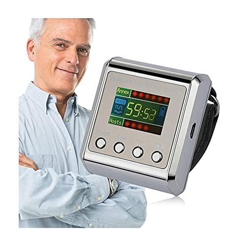 650Nm Physiotherapy Muñeca Terapia con Láser Reloj de Pulsera para Diabetes Hipertensión Tratamiento Diabético Reloj Diabético La Láser Sinusitis Terapia Hiperlipidemia Terapia Equipo Dispositivo