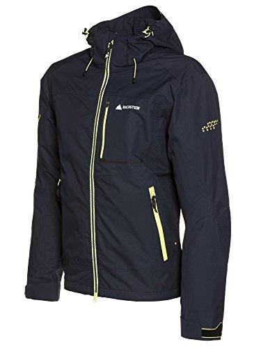 Dachstein Carbon Men Jacket Wasserdichte Wanderjacke/Outdoorjacke mit 3-Lagen und Kapuze (M)