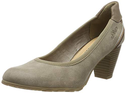 s.Oliver 5-5-22404-23, Zapatos de Tacón para Mujer, Marrón (Pepper 324), 39 EU
