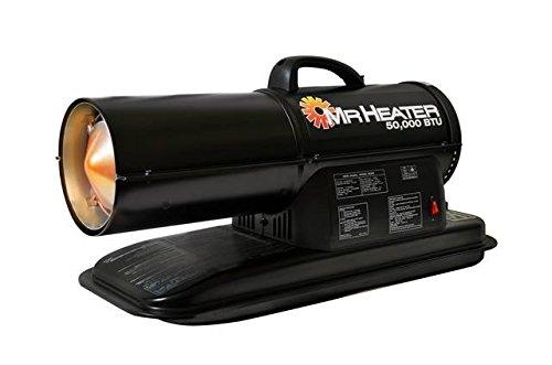 Mr. Heater 50,000 BTU Forced Air Kerosene Heater, Multi