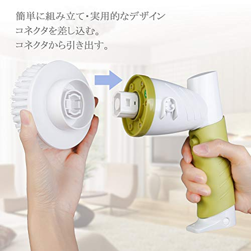 PHYSEN『電動お掃除ブラシ』