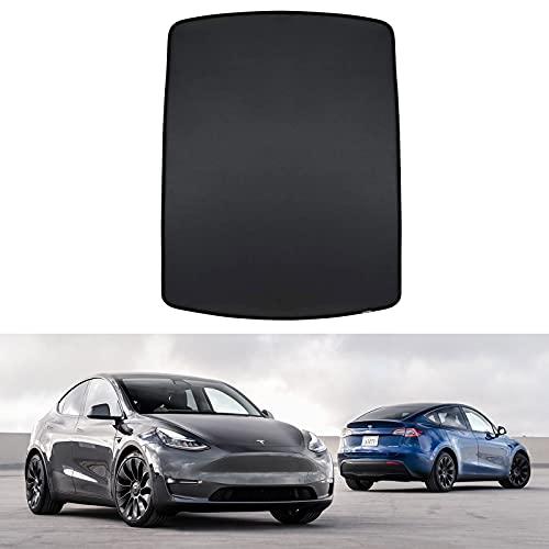 Tesla Model Y Parasol Panorámico Techo Sunshade Tesla Modelo Y Accesorios 2020 2021