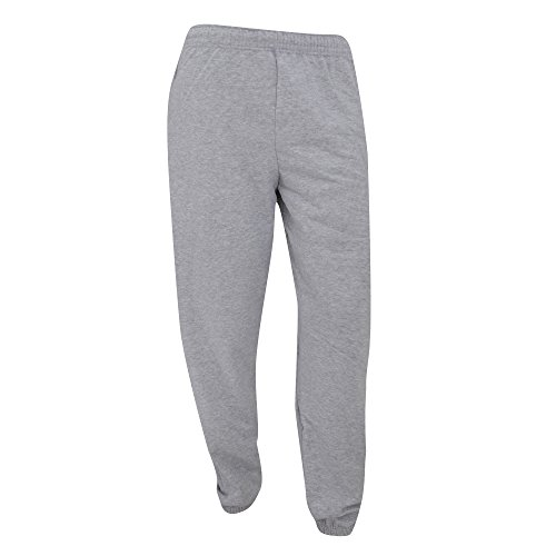 Fruit of the Loom Herren Hose grau Heather L