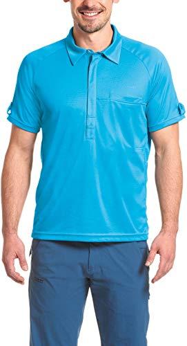 Maier Sports Fresh Polo Homme, Hawaiian Ocean Modèle 50 2017 T-Shirt Manches Courtes