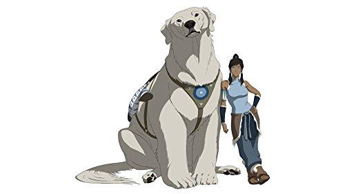 Da Bang Avatar The Legend of Korra Naga Clothing Bear 20X30 Inch Poster Print