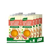 Knorr Caldo Líquido Casero de Carne 100% Natural sin Gluten ni Conservantes, 1L (8 unidades)