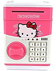 Charhoden Bank Mini ATM Cash, Pink, BY-416