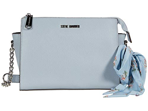 Steve Madden Blexi Crossbody with Scarf Blue One Size