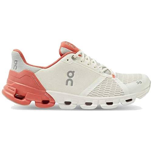 On Running W Cloudflyer Weiß, Damen Laufschuh, Größe EU 39 - Farbe White - Coral