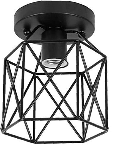 Berrywho Estilo Industrial de luz LED de Techo luz de Techo de...