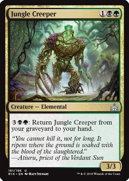 Magic The Gathering Jungle Creeper – Rampicante Della Giungla – Rivals of Ixalan