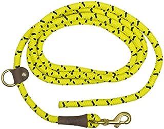 Mendota Pet EZ Trainer Dog Lead/Leash, Hi-Viz Yellow, 1/2-Inch x 8-Feet