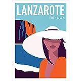 AZSTEEL Lanzarote, Canary Islands – Travel Poster |