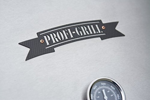 419je cuyQL - Profi-Grill PG 1000 Catering, Gastrogrill Edelstahlgrill Holzkohlegrill Hendlgrill Steckerlfisch Feuerstelle Nirosta V2A
