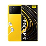 Xiaomi Poco M3 - Smartphone 4+64GB, Pantalla 6,53' FHD+ con Dot Drop, Snapdragon 662, Cámara triple de 48 MP con IA, batería de 6000 mAh, POCO Yellow