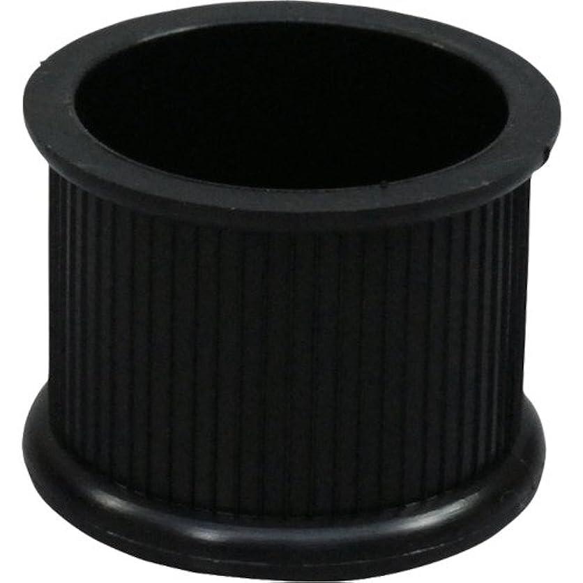モスク伴う掘る光 イス脚キャップ 黒28mm丸 BE-0-282 バラ