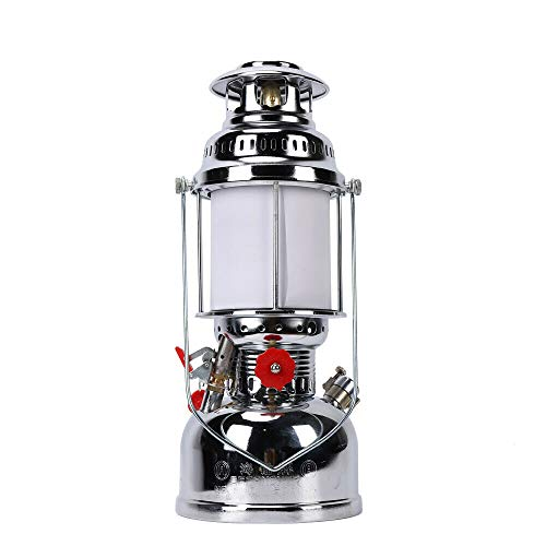 Hanging Lantern Outdoor Light, Portable Retro Camping Fishing Lamp Light w/Handle for Decorations Outdoor Sports