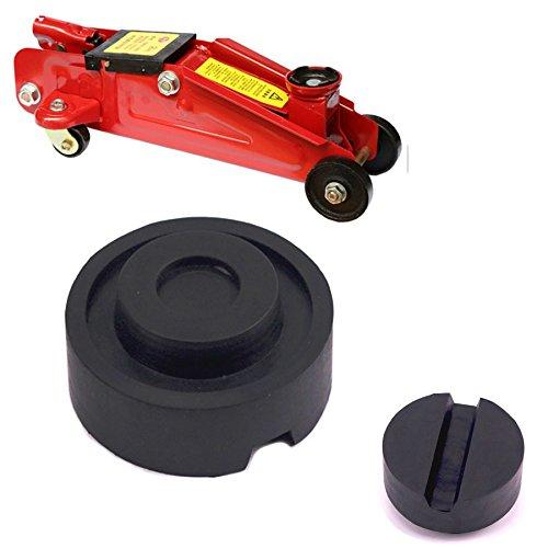Orel_carparts 65mm X 25mm Universal Nut & Waffel Gummiauflage Gummiklotz Gummiblock für Hebebühne und Wagenheber