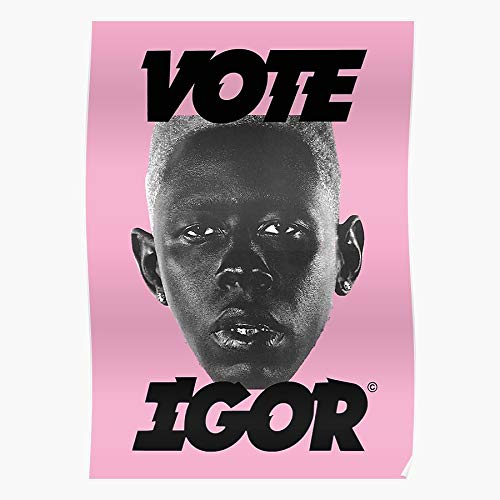 Music Still Igor Hop We Earfquake Friends Cool Are Hip Magic New Wand Funk Regalo para la decoración del hogar Wall Art Print Poster 11.7 x 16.5 inch